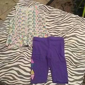 Baby girl summer set